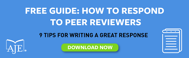 Free guide on how to respond to peer reviewers in research