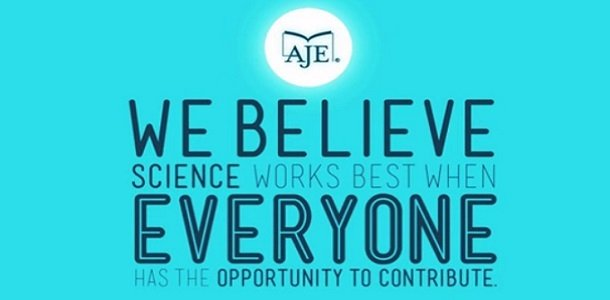 AJE's Mission: Helping Researchers Succeed