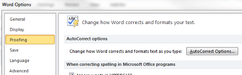 Customize Your Microsoft Word Spelling Dictionary and